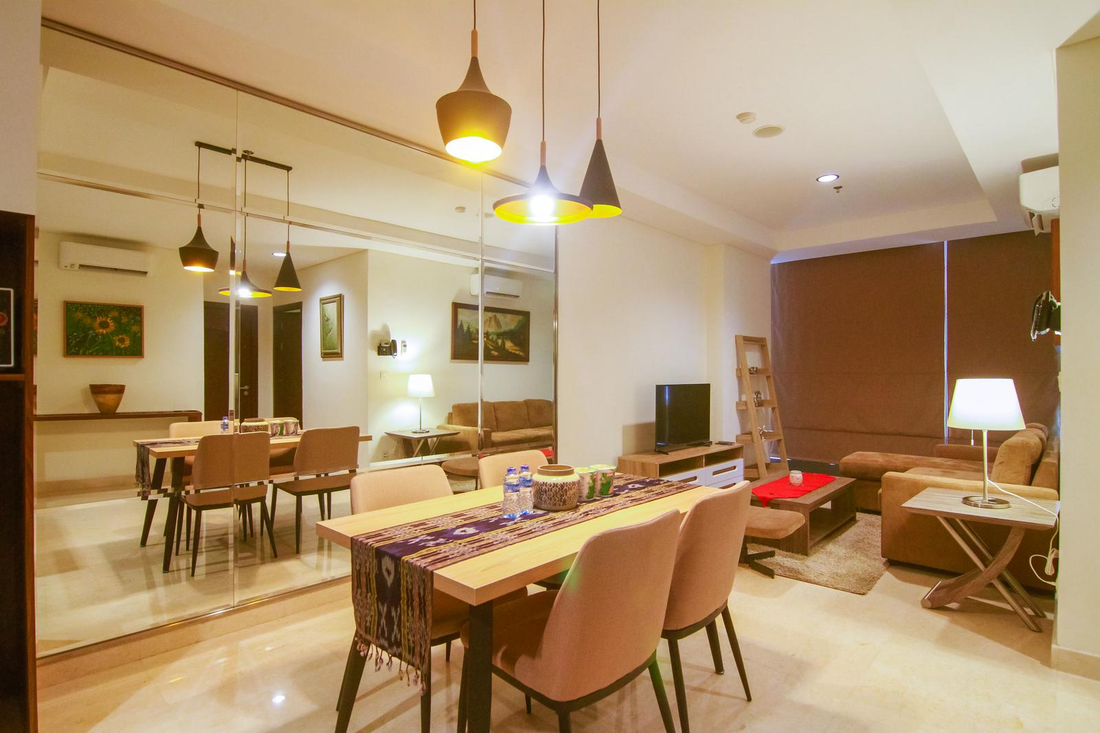 Lavenue Apartemen Pancoran - 2BR Premium L'avenue Apartment By Travelio