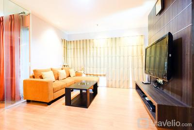 Cozy and Comfy 2BR Sahid Sudirman Residence Karet Apartement By Travelio