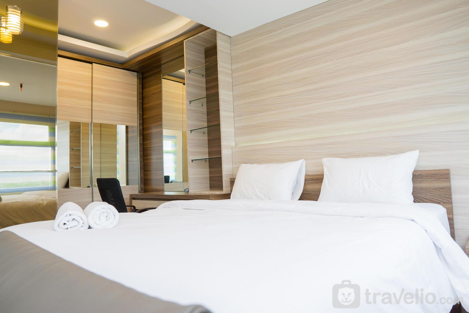 Grand Asia Afrika Apartment - Spacious Studio Apartment at Grand Asia Afrika By Travelio