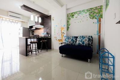 Spacious 1BR The Oak Apartment near Kelapa Gading By Travelio