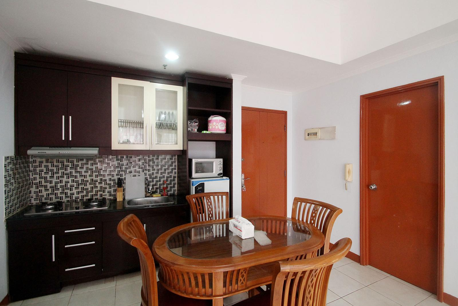 Sudirman Park Apartment - 3 BR Homey & Comfortable Room @ Sudirman Park Apartment