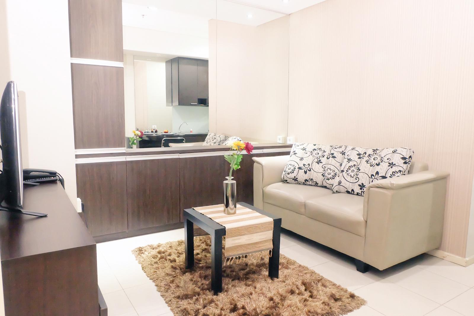 Cosmo Terrace Thamrin - 1BR Cosmo Terrace Near Thamrin City By Travelio