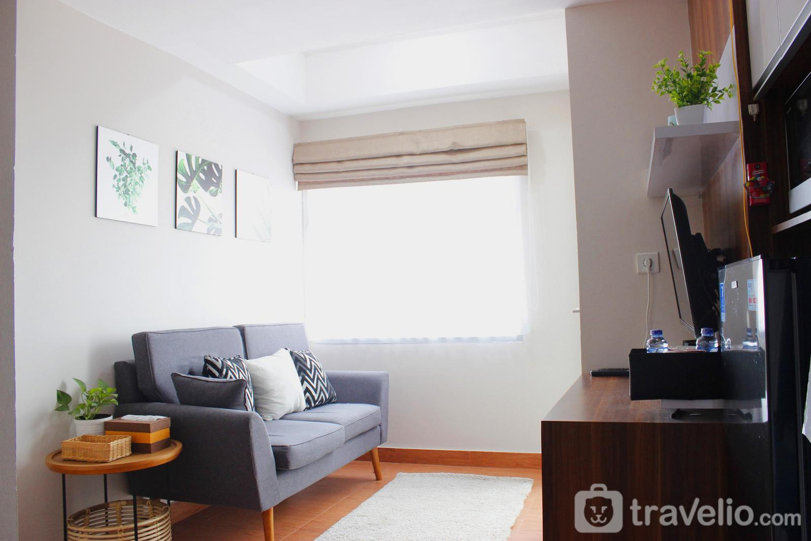 Grand Asia Afrika Apartment - Comfy 2BR Apartment at Grand Asia Afrika Residence By Travelio