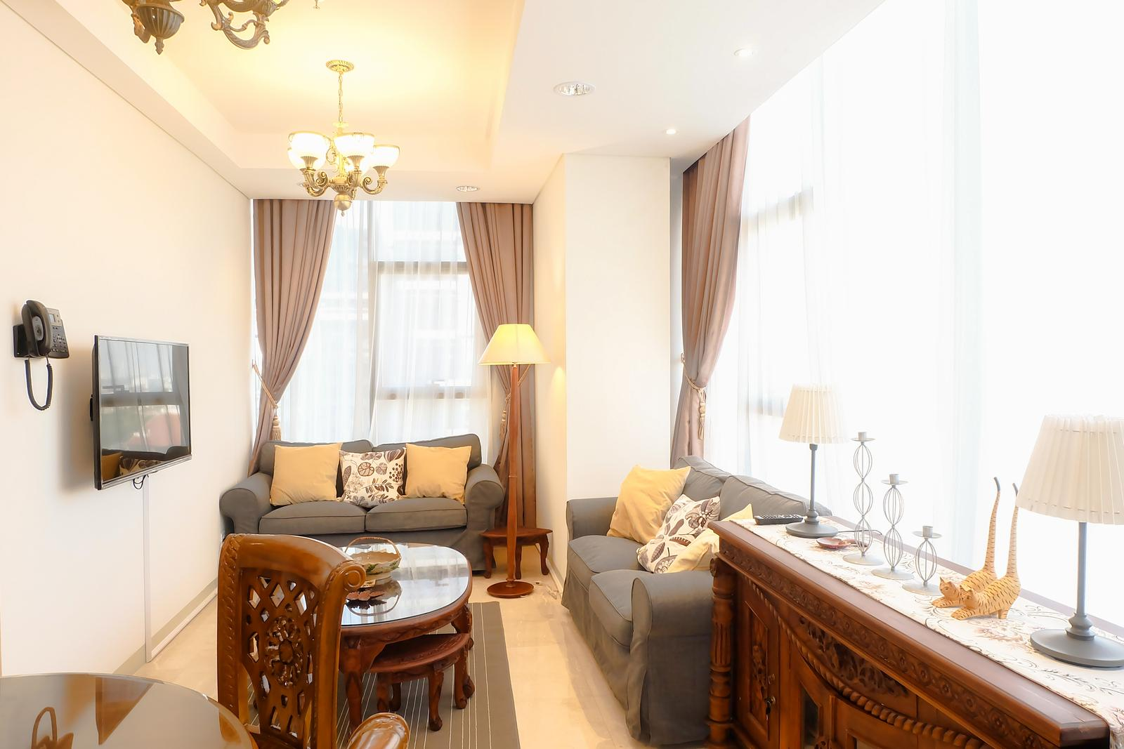 Lavenue Apartemen Pancoran - Comfy 2BR L'Avenue Apartment By Travelio