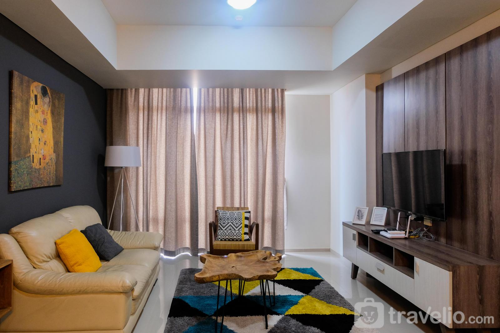 The Accent Apartment - Cozy and Elegant 2BR at The Accent Apartment By Travelio