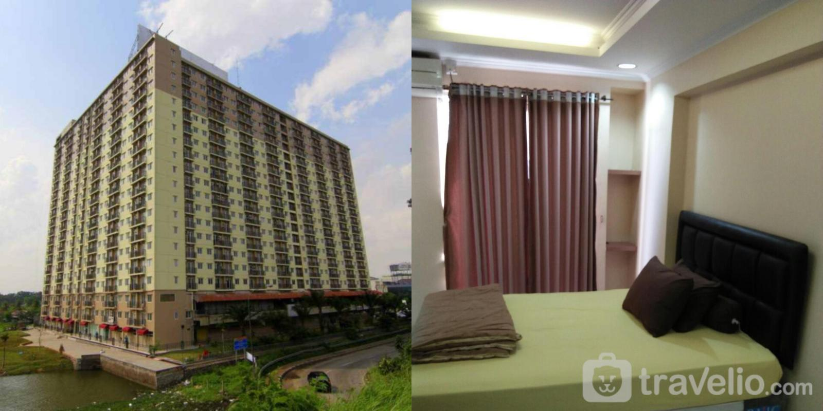 Mutiara Bekasi Apartment  - Cozy Studio Room Full Furnish With Pool View @ Apartment Mutiara Bekasi