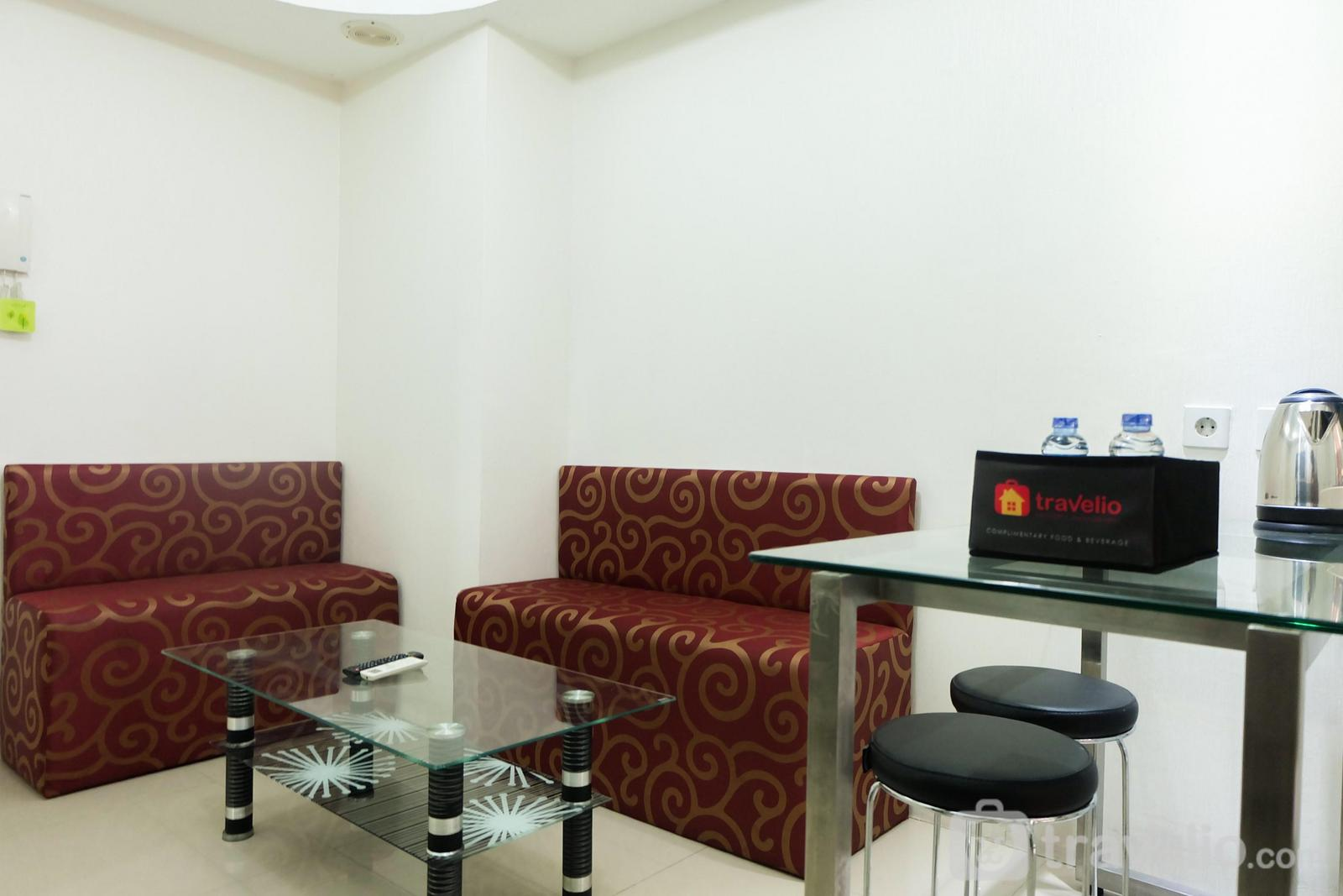 Bassura City Cipinang - Affordable and Relaxing 2BR Bassura City Apartment By Travelio