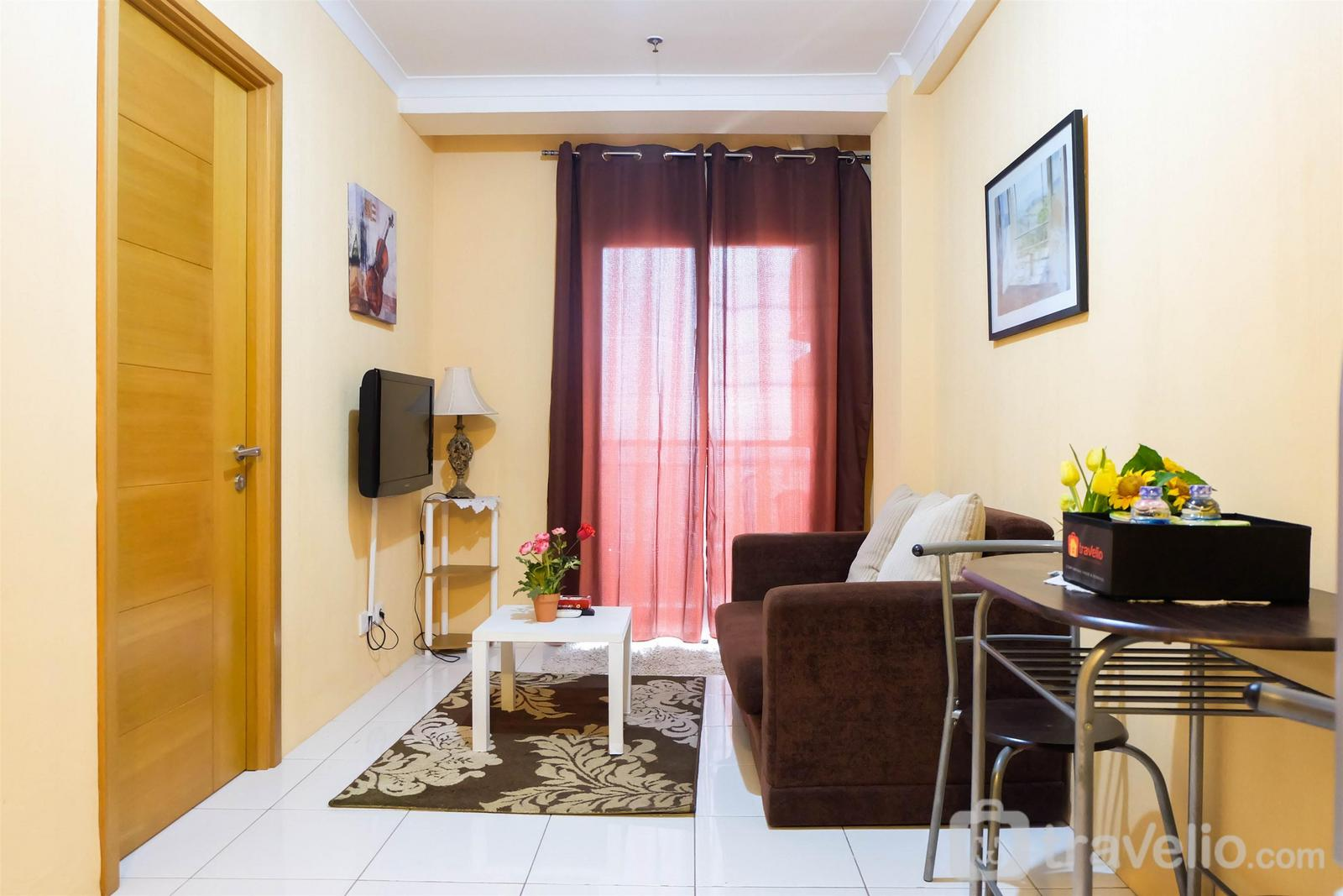Signature Park Tebet - Prime Location 2BR Signature Park Apartment By Travelio