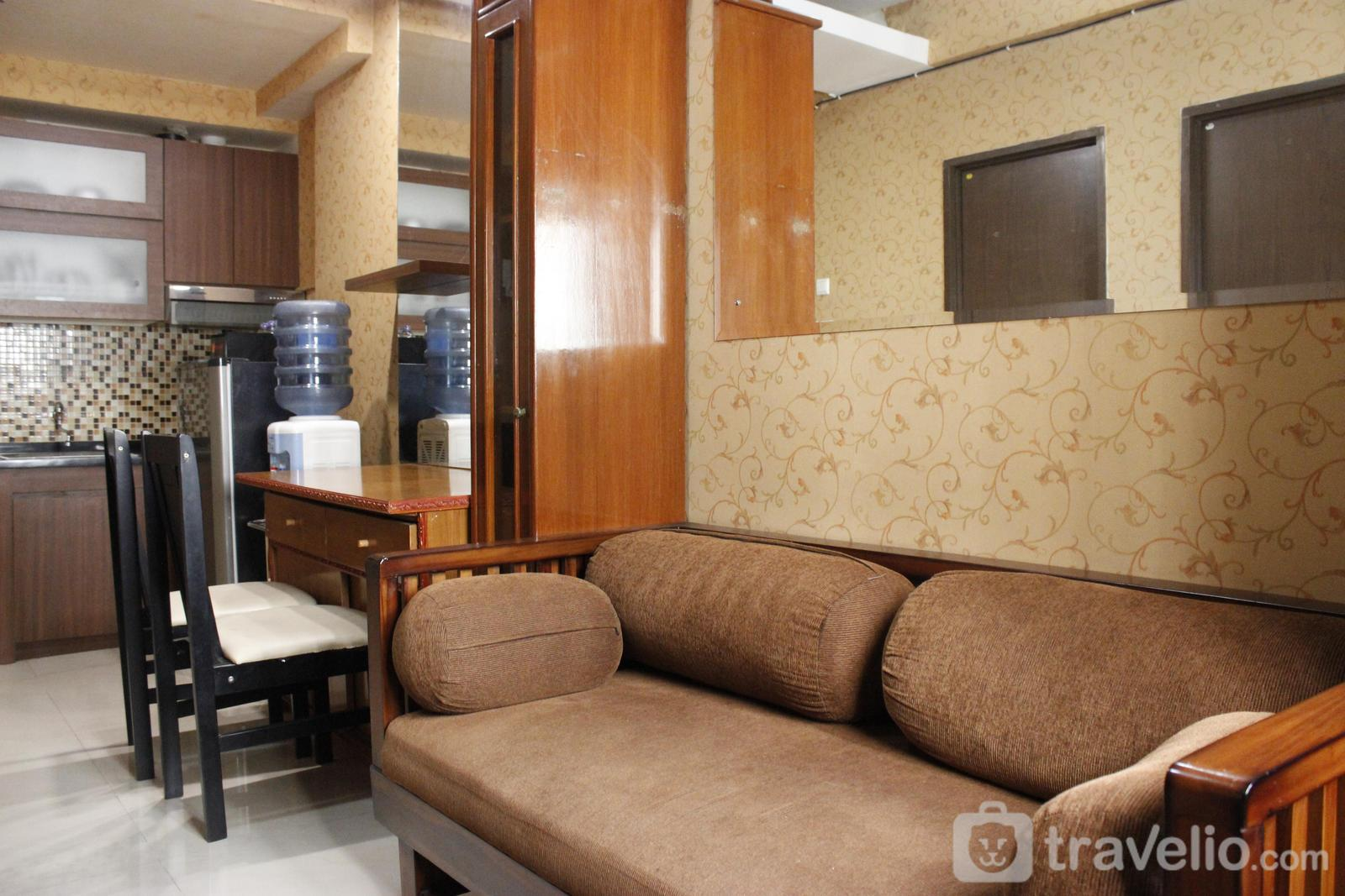 The Suites @Metro - Compact 2BR The Suites @Metro Apartment By Travelio