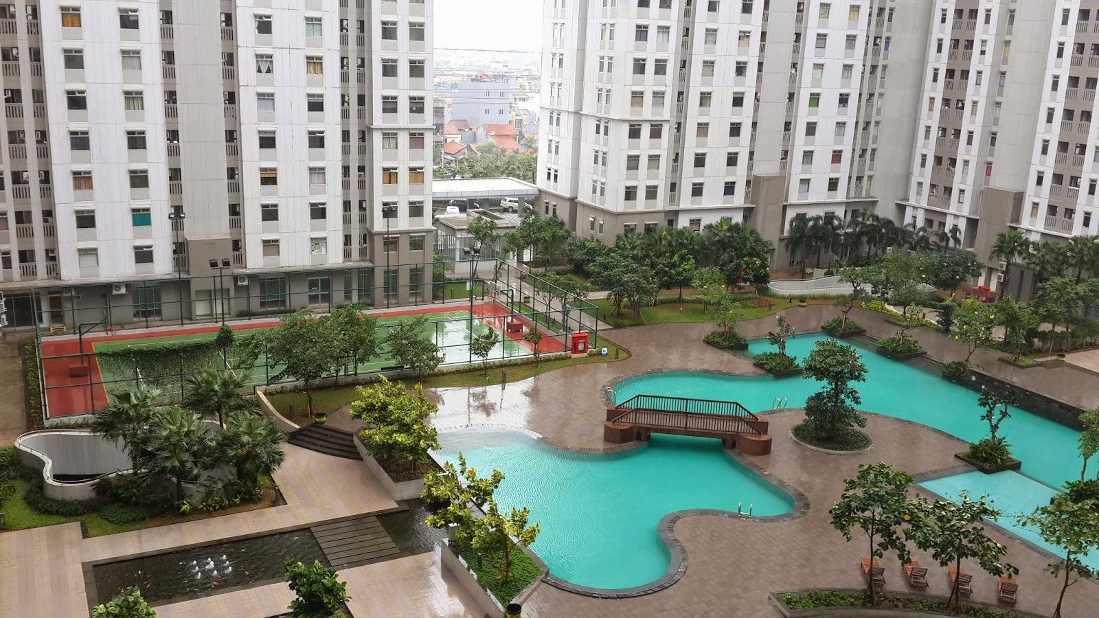 Green Bay Pluit - Spacious Studio Room @ Green Bay Apartment Tower Borneo