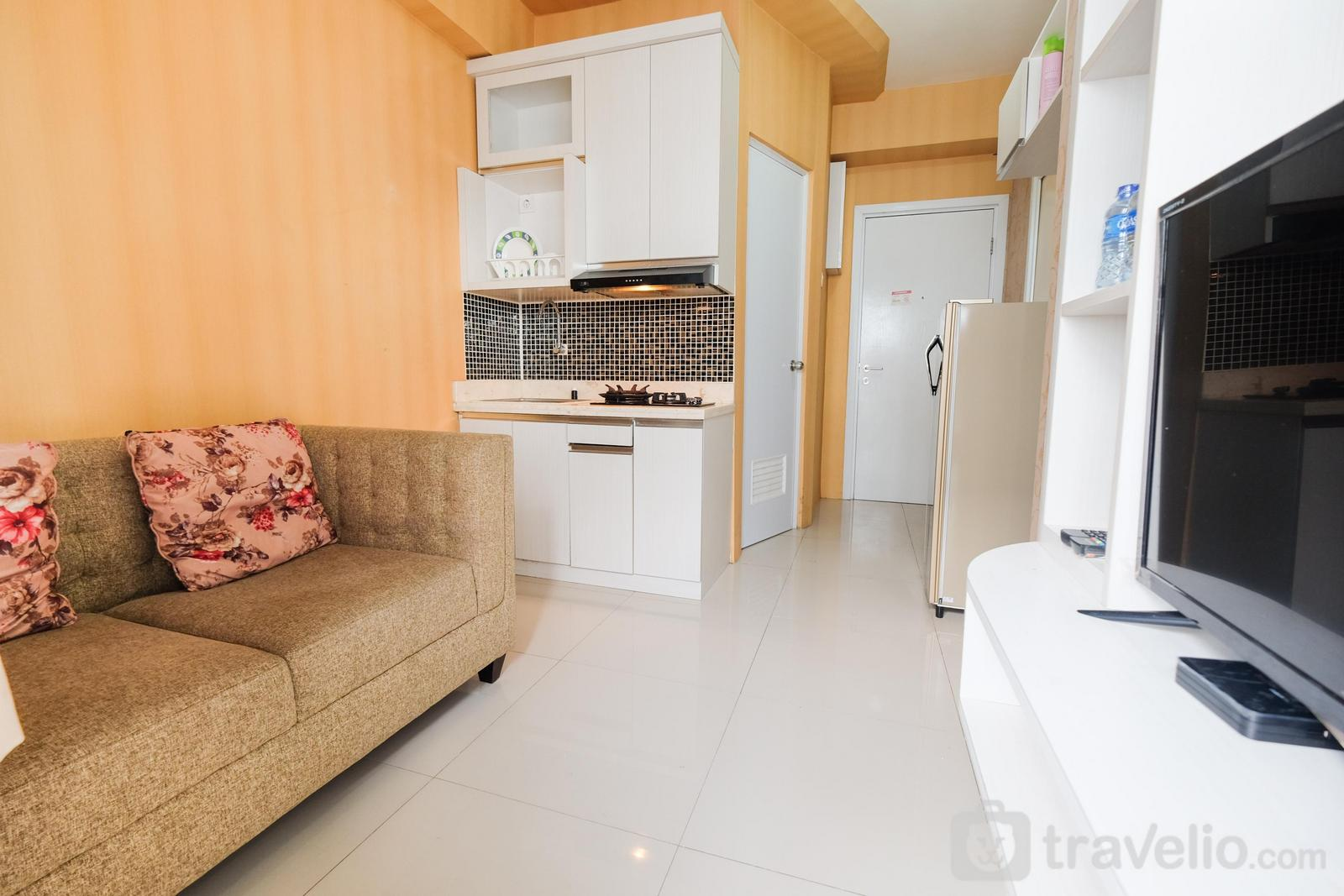 Green Pramuka Cempaka Putih - City View 2BR Apartment @ Green Pramuka near Shopping Mall By Travelio