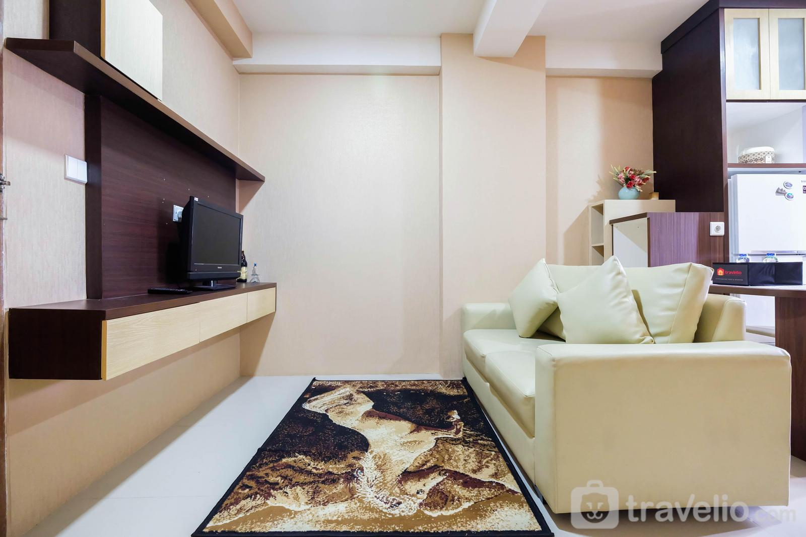 Oak Tower - Homey 2BR The Oak Tower Apartment By Travelio