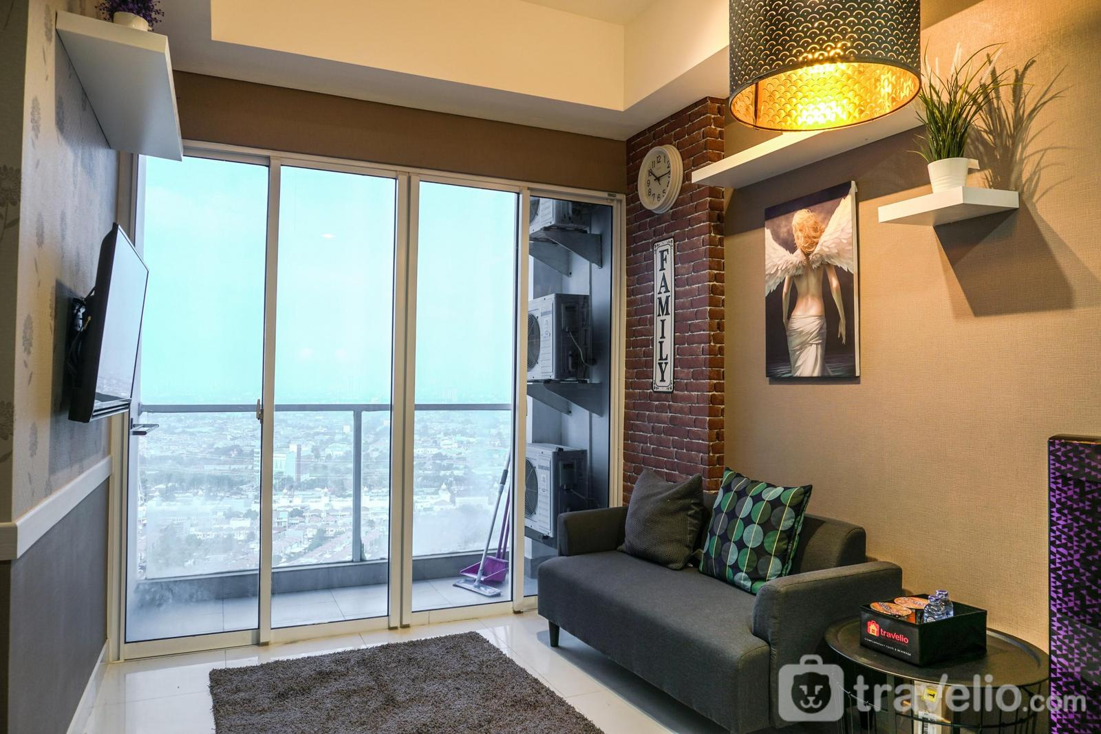 Apartemen Puri Mansion - 2BR Apartment at Puri Mansion near Puri Indah Mall By Travelio