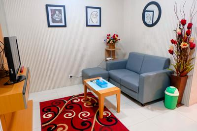 1 BR Cosmo Mansion Apartment W/ Direct Access To Thamrin City Mall By Travelio