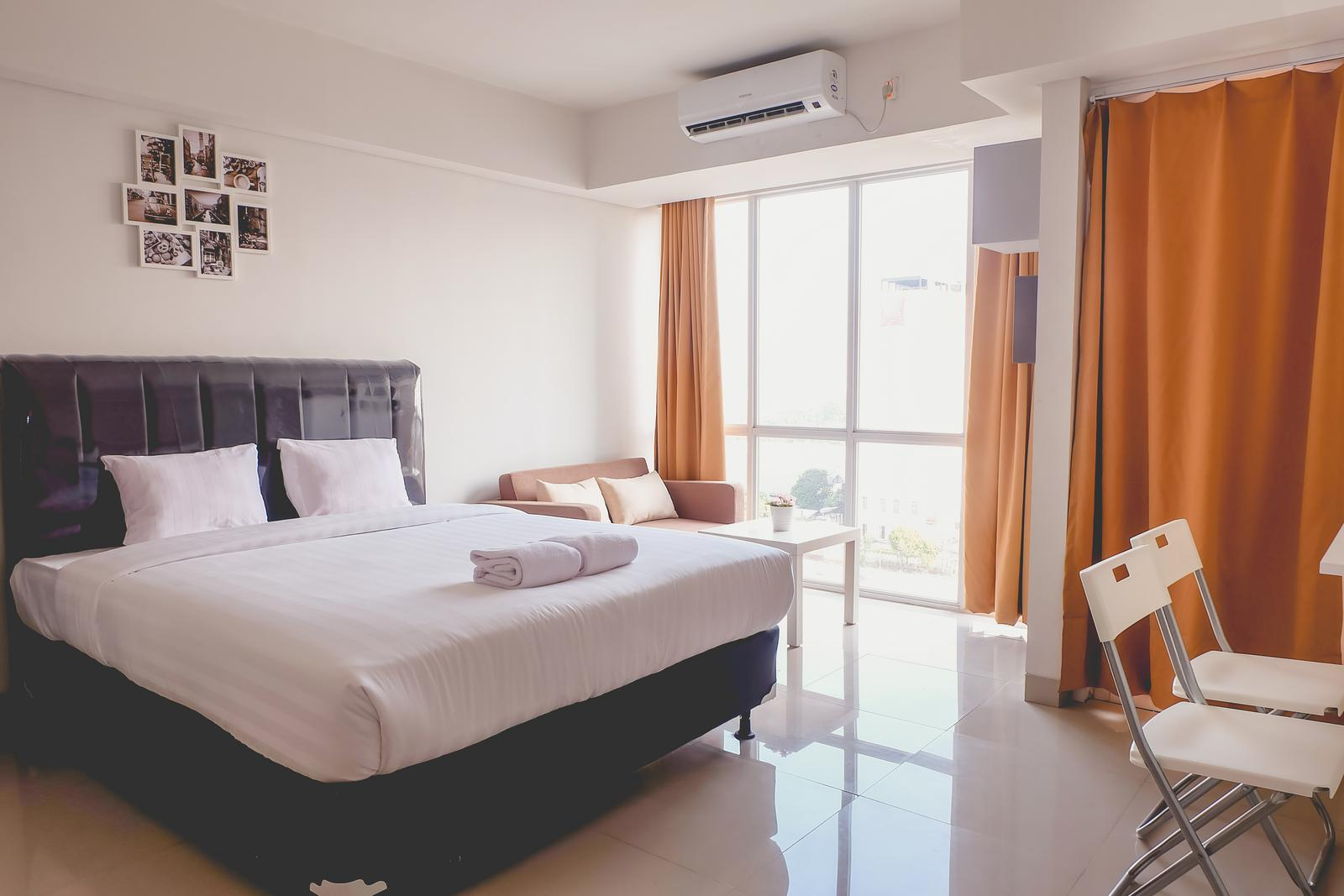 H Residence - Fully Furnished Studio Apartment Near MT Haryono And Halim By Travelio