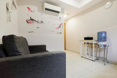 Golf View 1BR at The Mansion near JIEXPO Kemayoran By Travelio