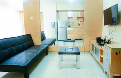 Comfortable 1BR Taman Rasuna Apartment Kuningan near Kota Kasablanka By Travelio