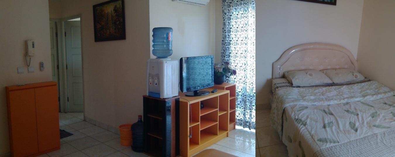 MOI Kelapa Gading - Modern Furnished 2BR 22th Floor @ Apartment City Home By Adaru Property At MOI