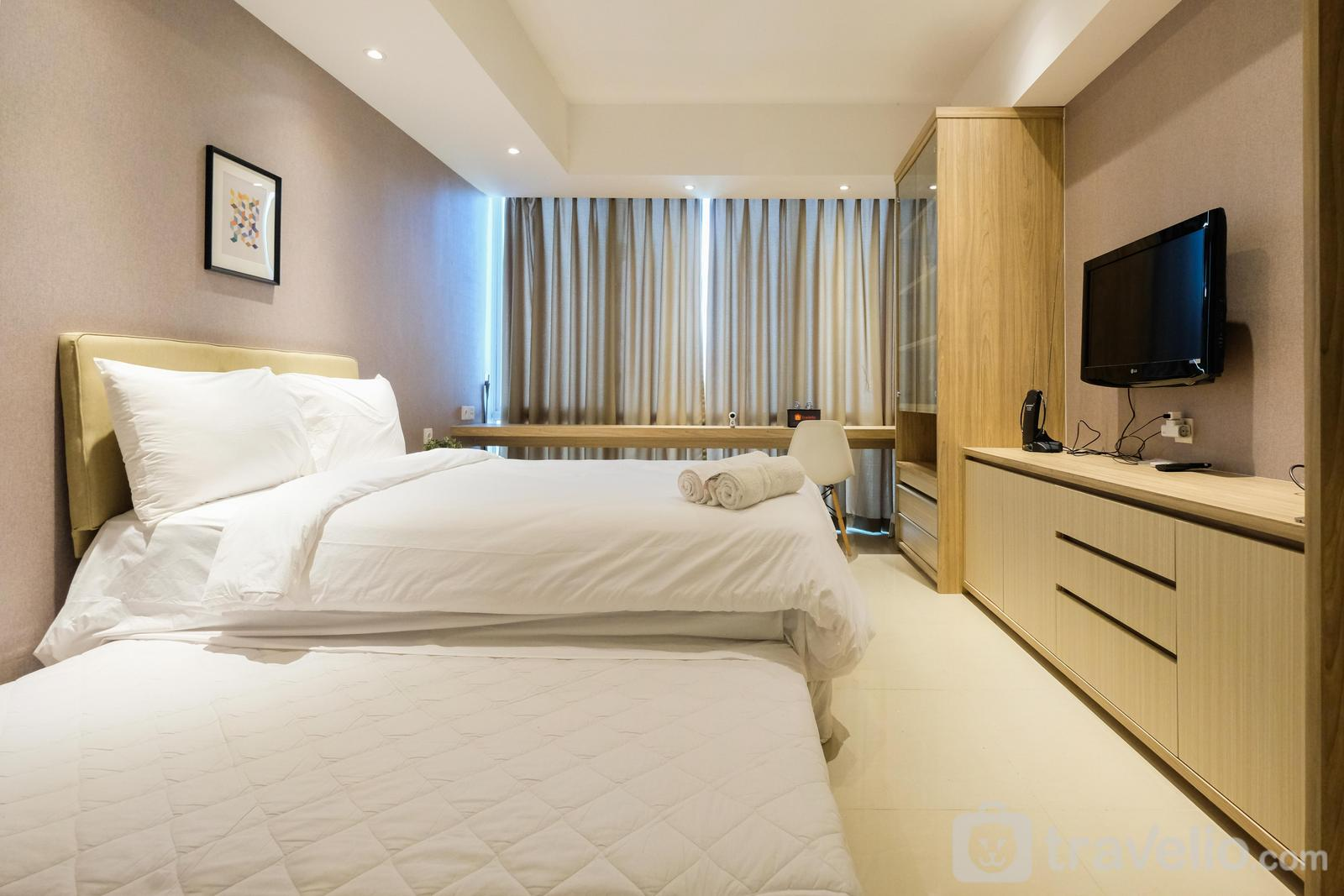 U Residence Apartment - Elegant Studio U Residence Apartment Karawaci By Travelio