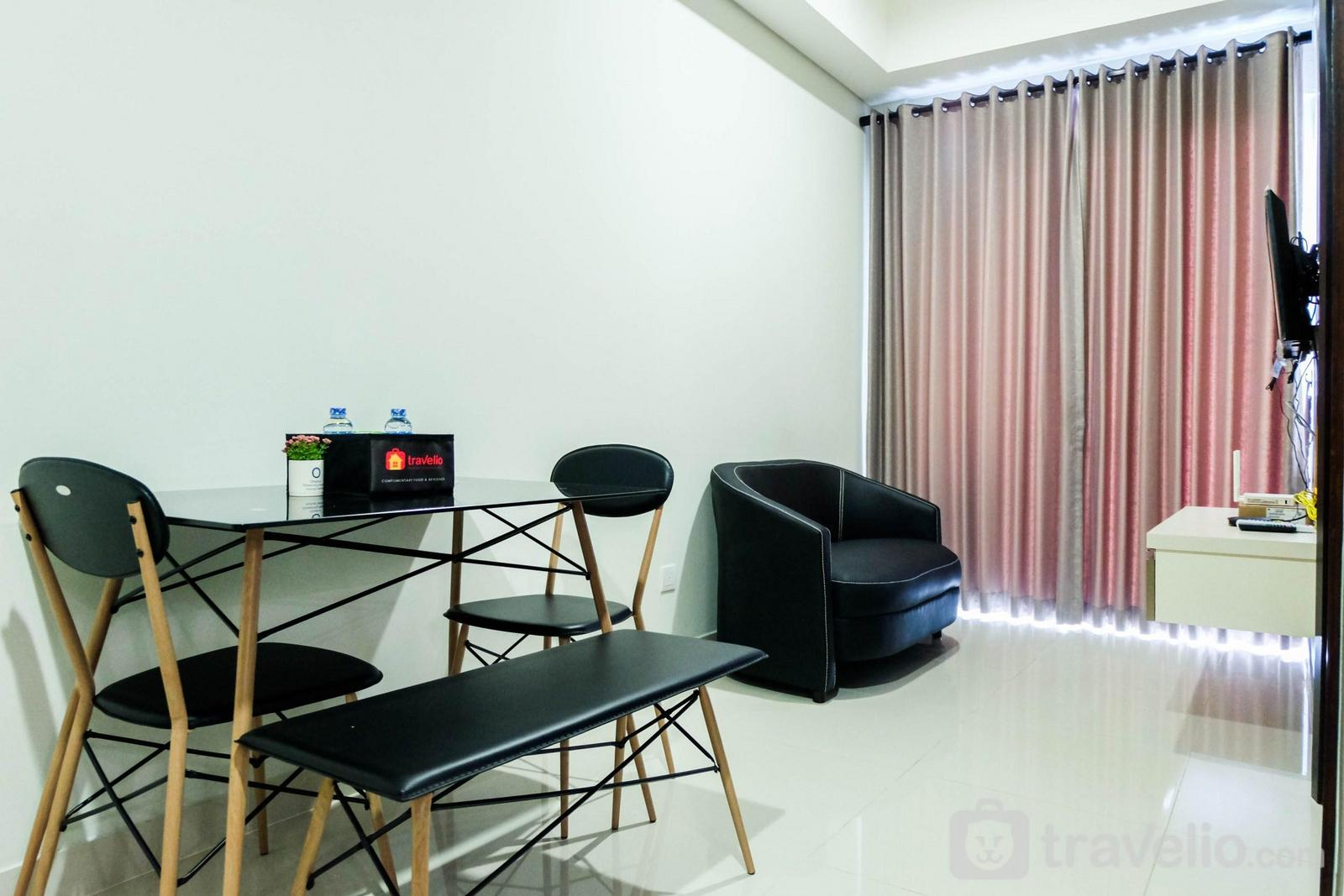 Puri Mansion apartment - Modern 1BR Puri Mansion Apartment with City View By Travelio
