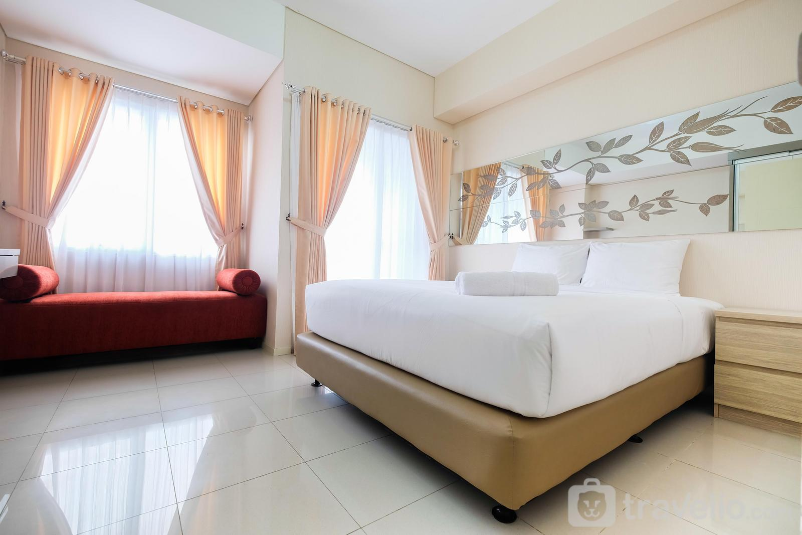 Cosmo Terrace Thamrin - Comfy 1BR Apartment at Cosmo Terrace By Travelio