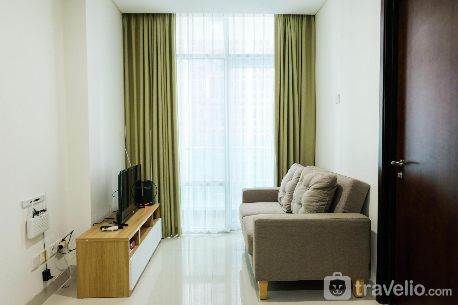 Brooklyn Alam Sutera - Simply and Relax 1BR @ Brooklyn Apartment By Travelio