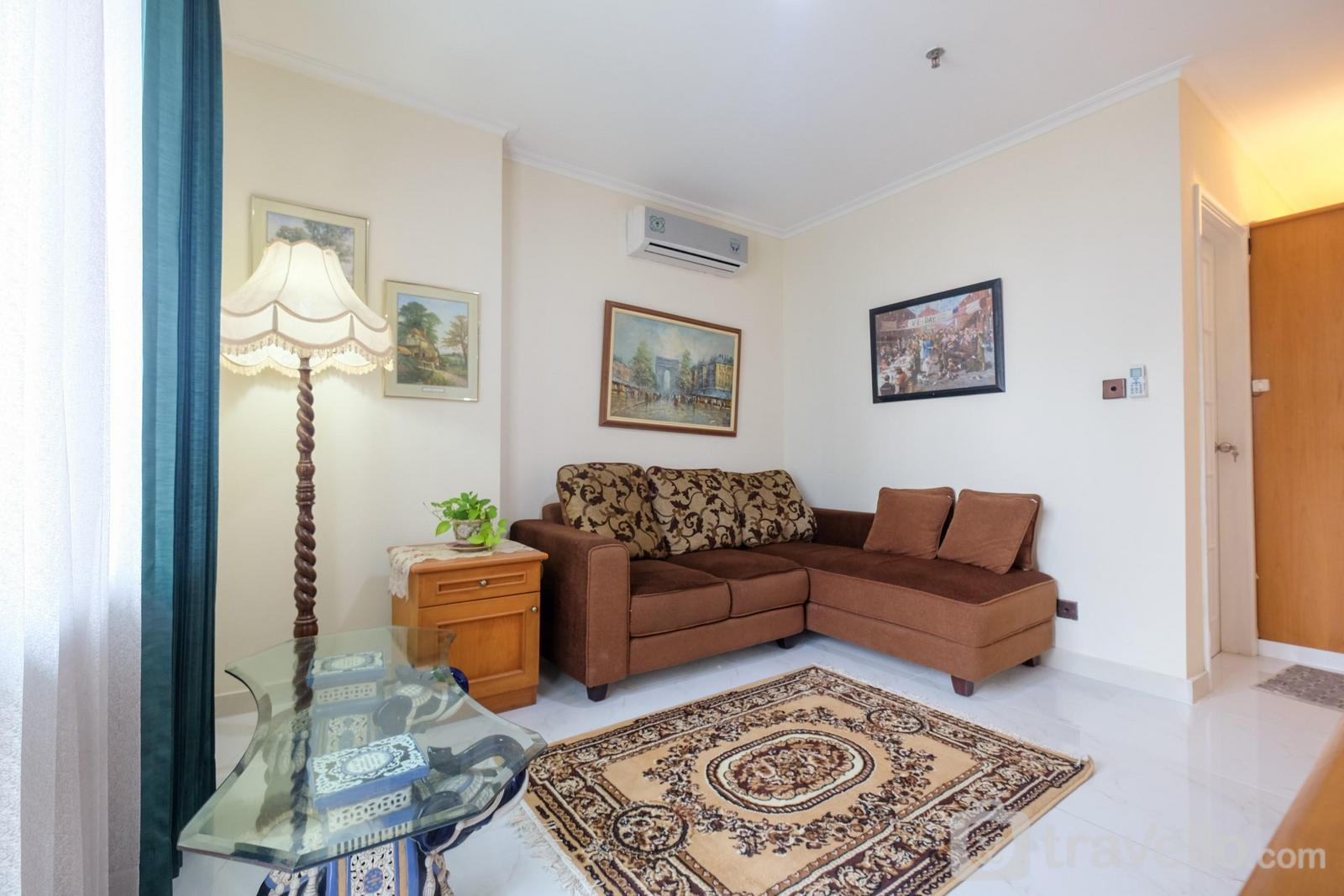 Semanggi Apartment - Comfortable 1BR at Apartment Semanggi Slipi By Travelio