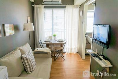 Cozy 2BR @ Apartement Serpong Greenview by Reza