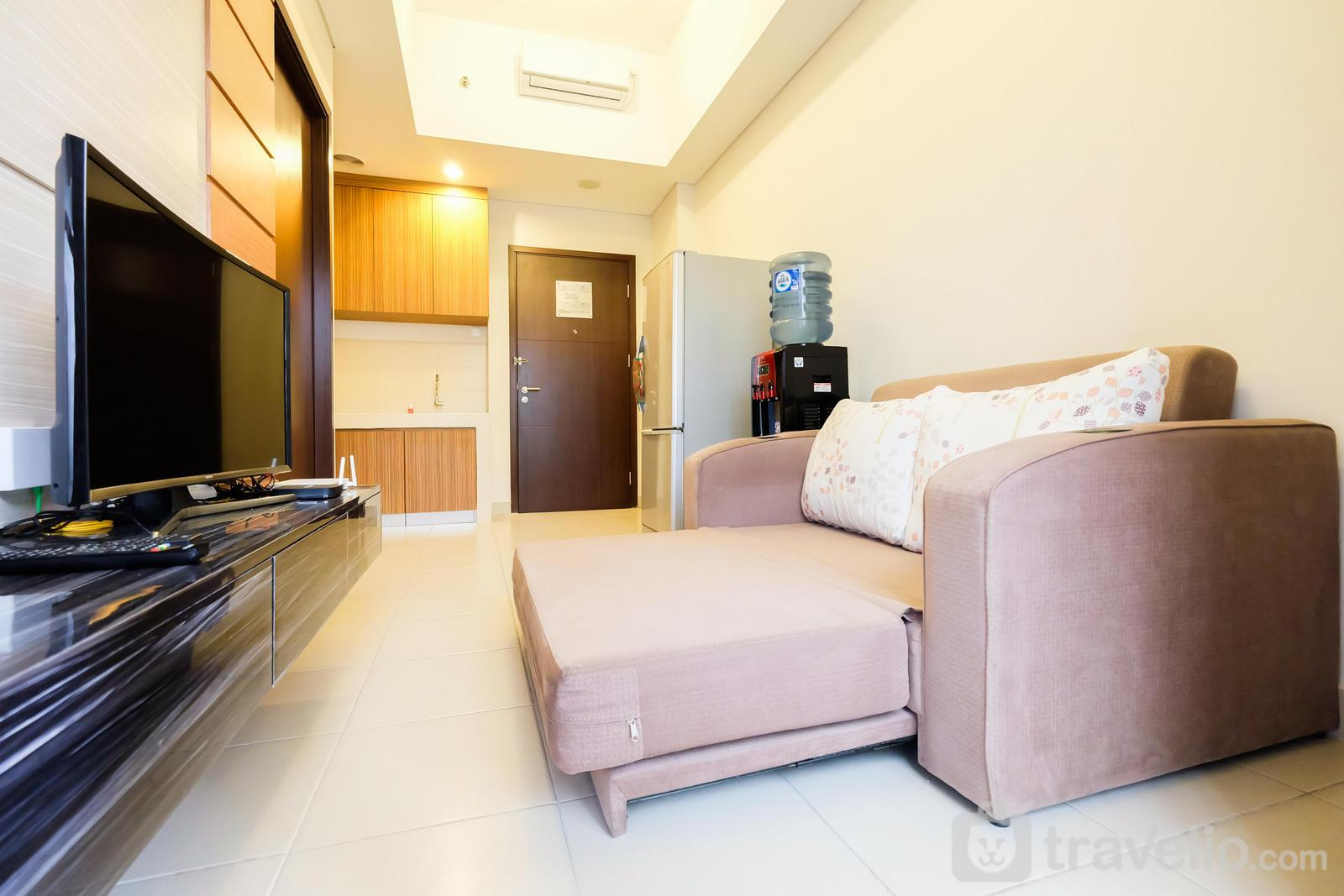 Saveria Apartment BSD City - Luxury 1BR Saveria Apartement near AEON&ICE BSD By Travelio