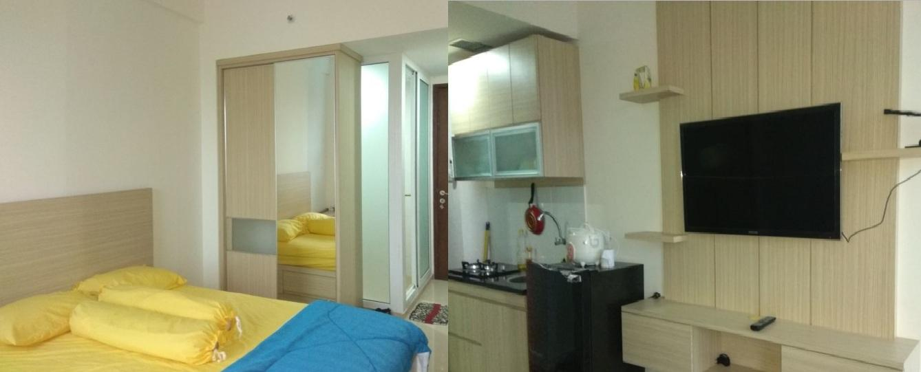 Vivo Apartments - Cozy Studio Room @ V Apartment By Pesta42
