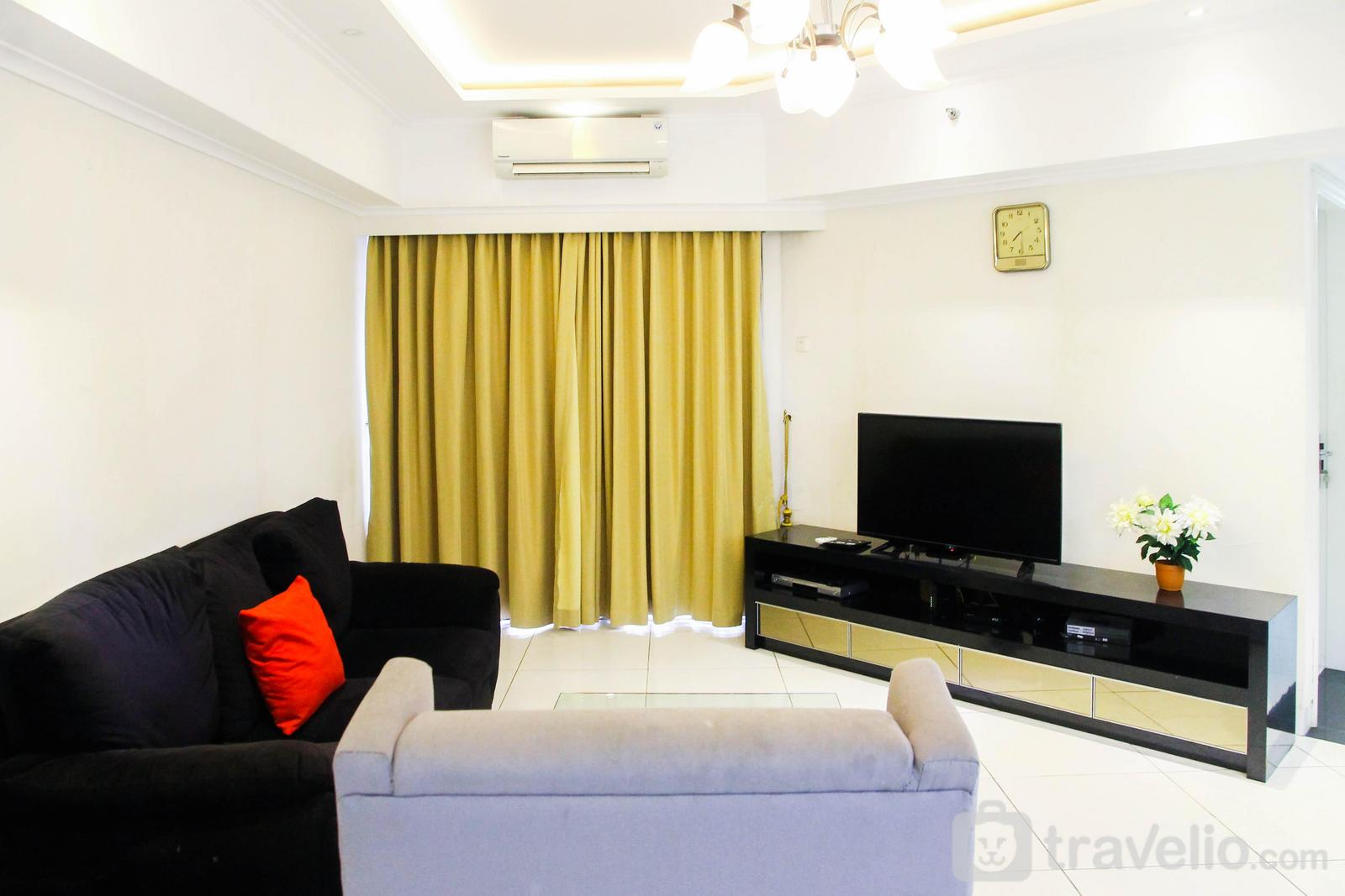 Sudirman Tower Condominium - 3BR City View Sudirman Condominium Apartment by Travelio