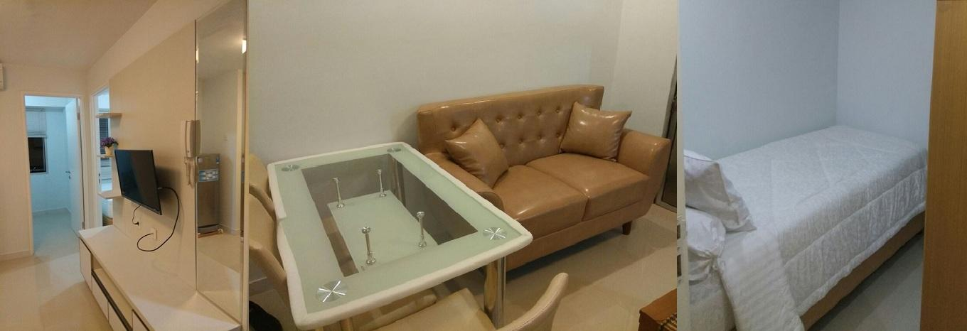 Bassura City Cipinang - 2 + 1 Bedroom Cozy Stay @ Bassura City Apartment