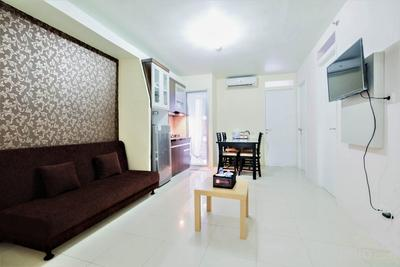 Spacious 3BR at Green Palace Apartment By Travelio