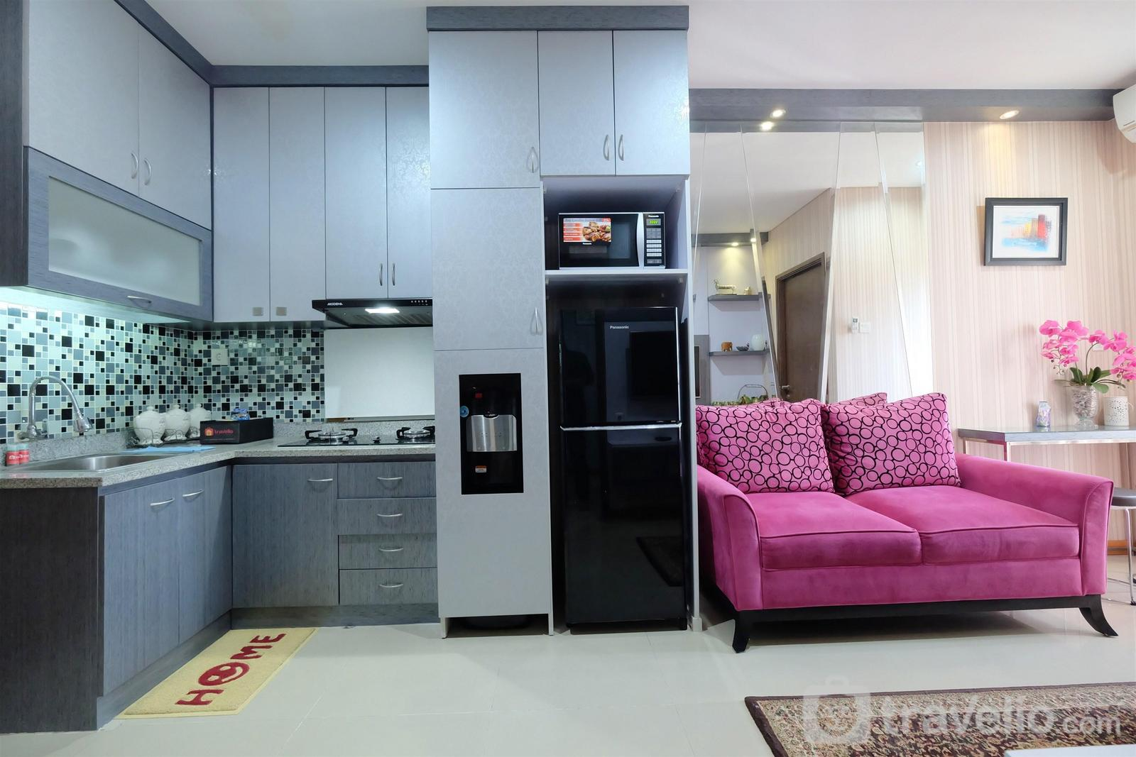 Northland Ancol - Deluxe And Comfortable 2BR Apartment Northland Ancol Residence By Travelio