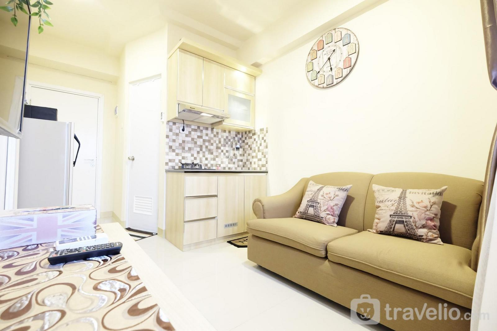Green Pramuka Cempaka Putih - Cozy 2BR Green Pramuka Apartement Direct Access to GPS Mall by Travelio