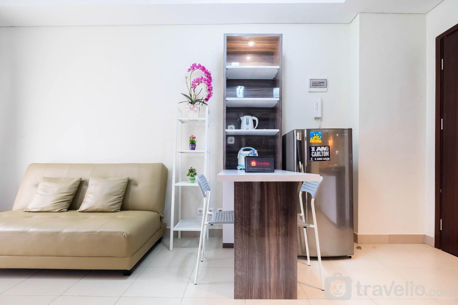 Saveria BSD City - Elegant and Spacious 1BR Saveria Apartment near ICE BSD By Travelio