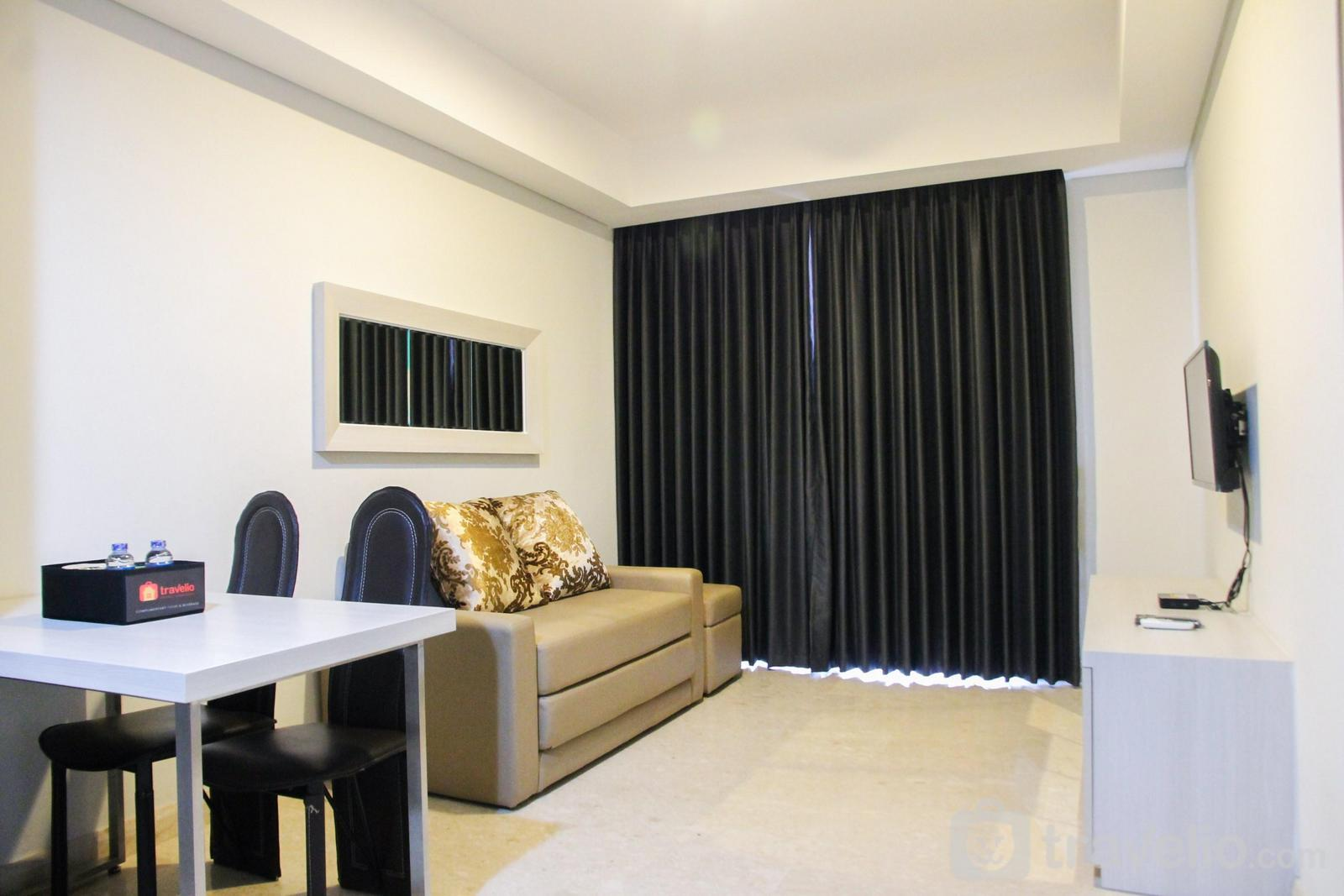 Gold Coast Apartment - Sea View 1BR at Gold Coast Apartment near PIK By Travelio