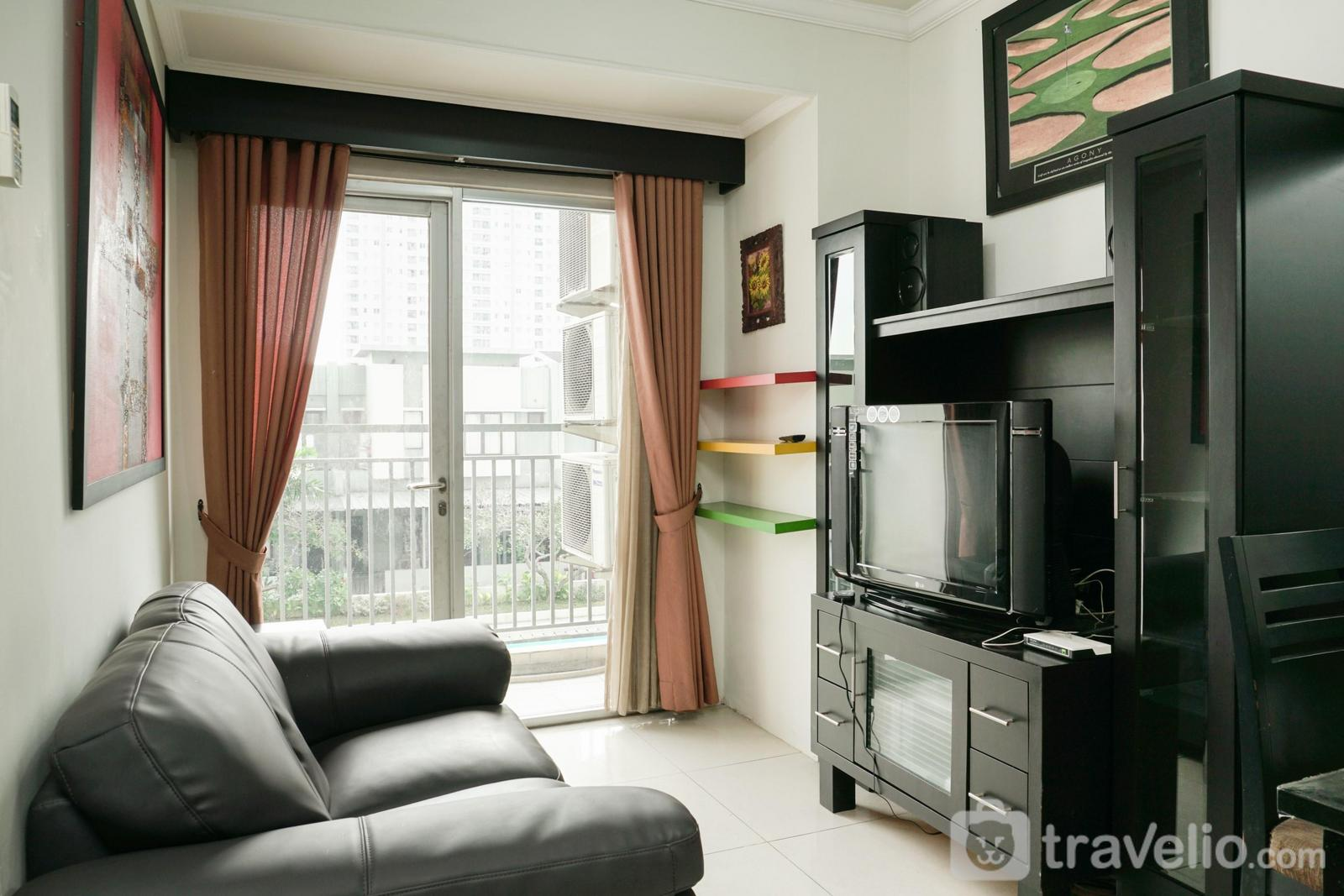 The Jakarta Residence - The Convenient 2BR Apartment at Jakarta Residence By Travelio