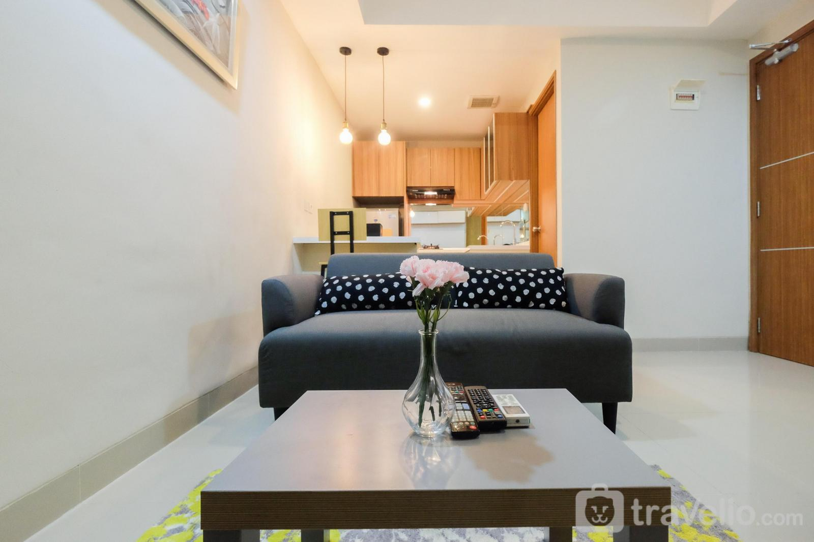 The Oasis Cikarang - Cozy 1BR Oasis Apartment By Travelio