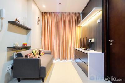 Best Price 1BR Brooklyn Apartment near IKEA Alam Sutera by Travelio