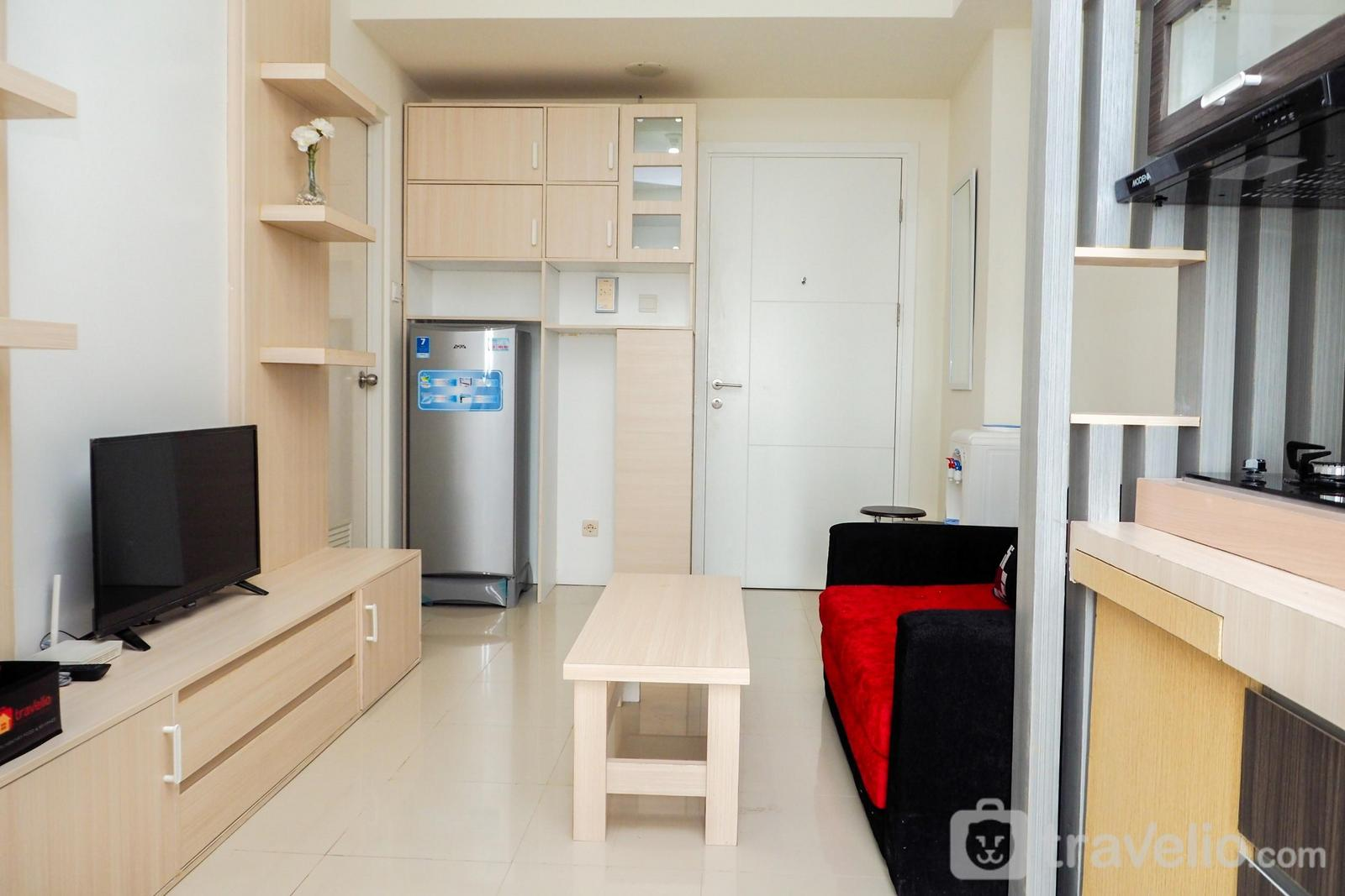 Parahyangan Residence - Comfort and Cozy 2BR Parahyangan Residence Apartment By Travelio