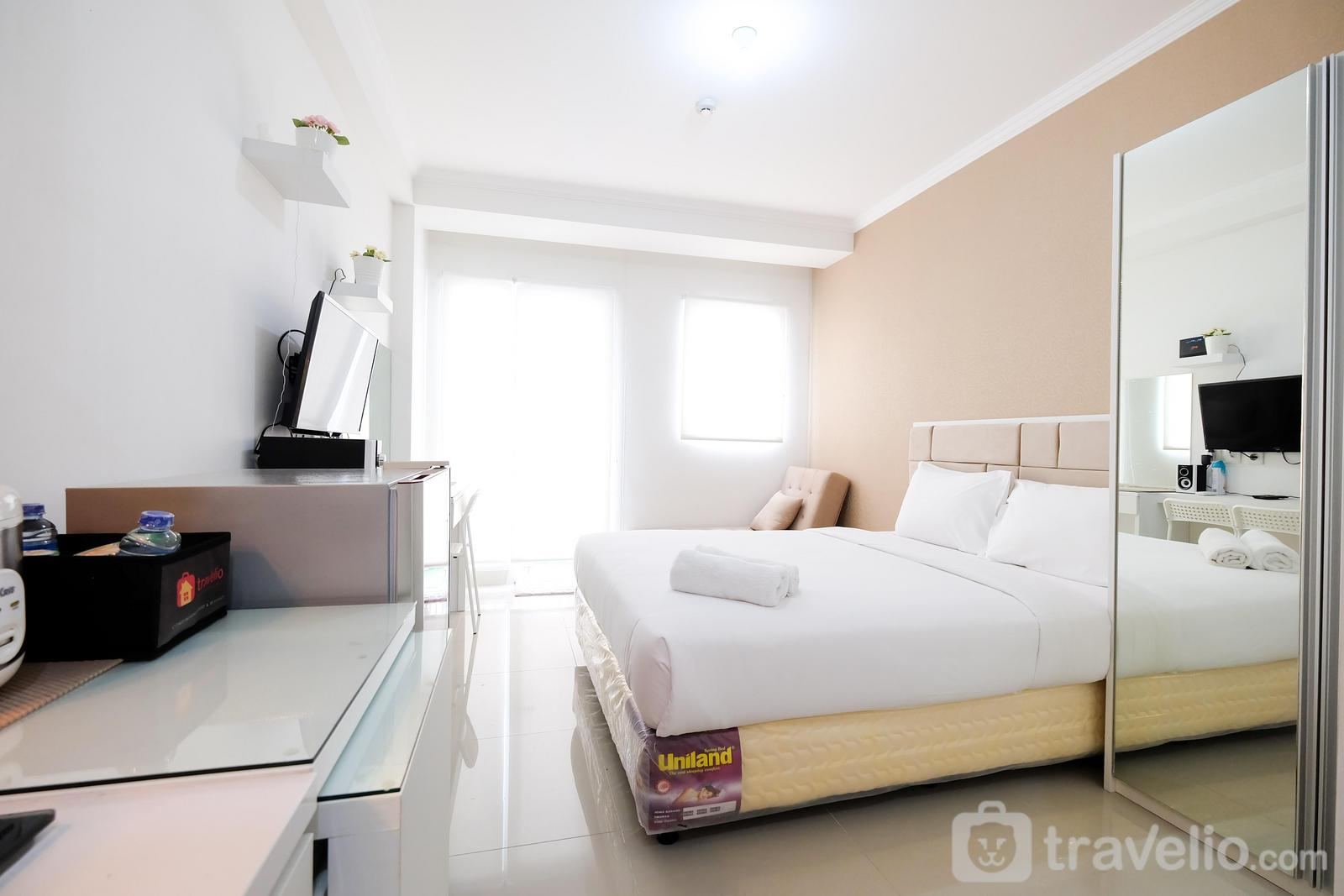 Signature Park Grande M.T Haryono - Studio Signature Park Grande Apartment Near MT Haryono By Travelio