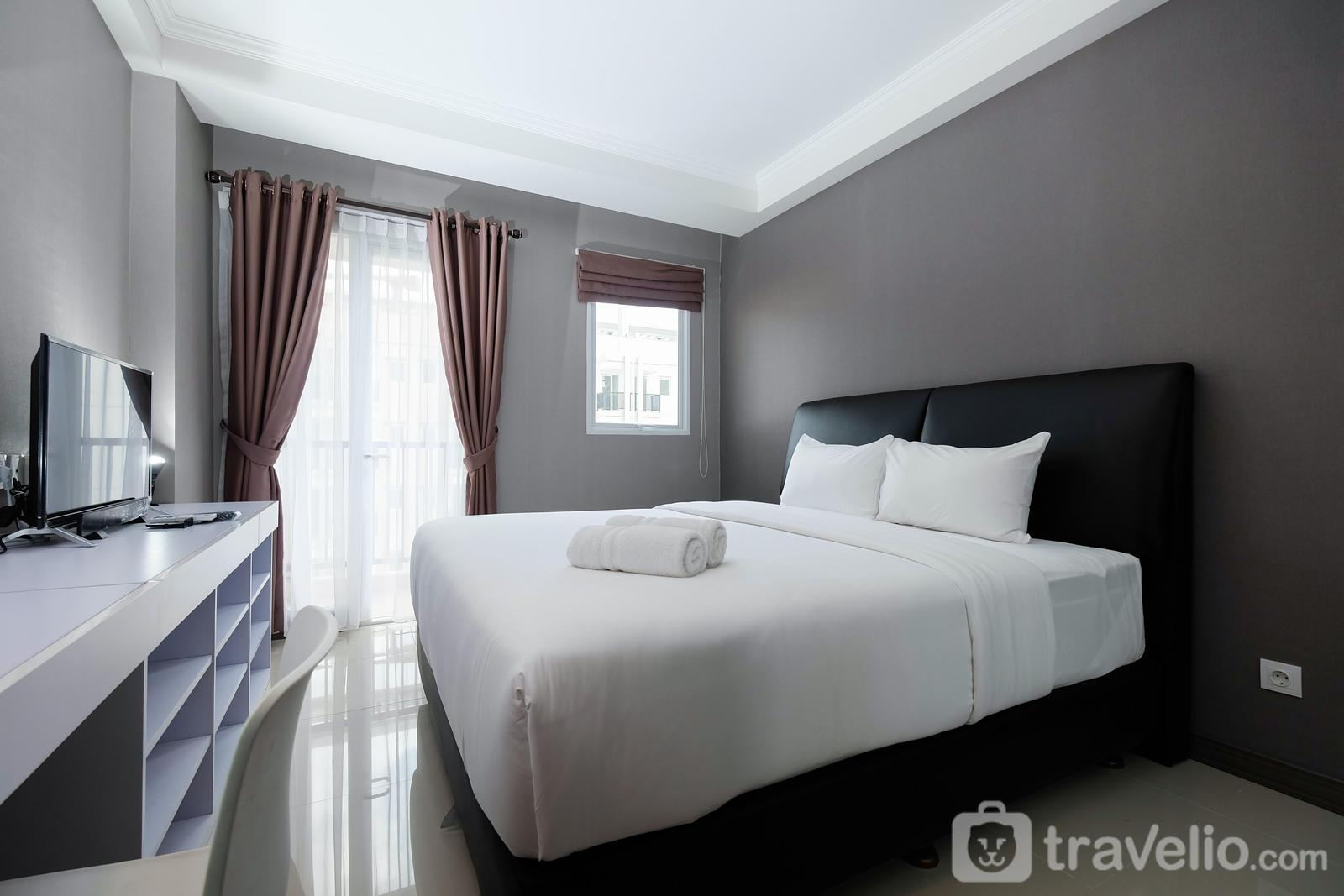 Signature Park Grande M.T Haryono - Well Designed Studio Apartment Signature Park Grande By Travelio