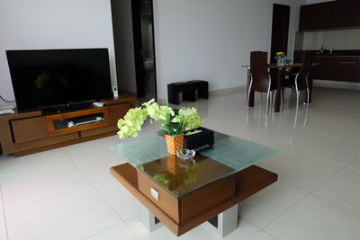 2BR Denpasar Residence Penthouse Apartment At Kuningan City By Travelio