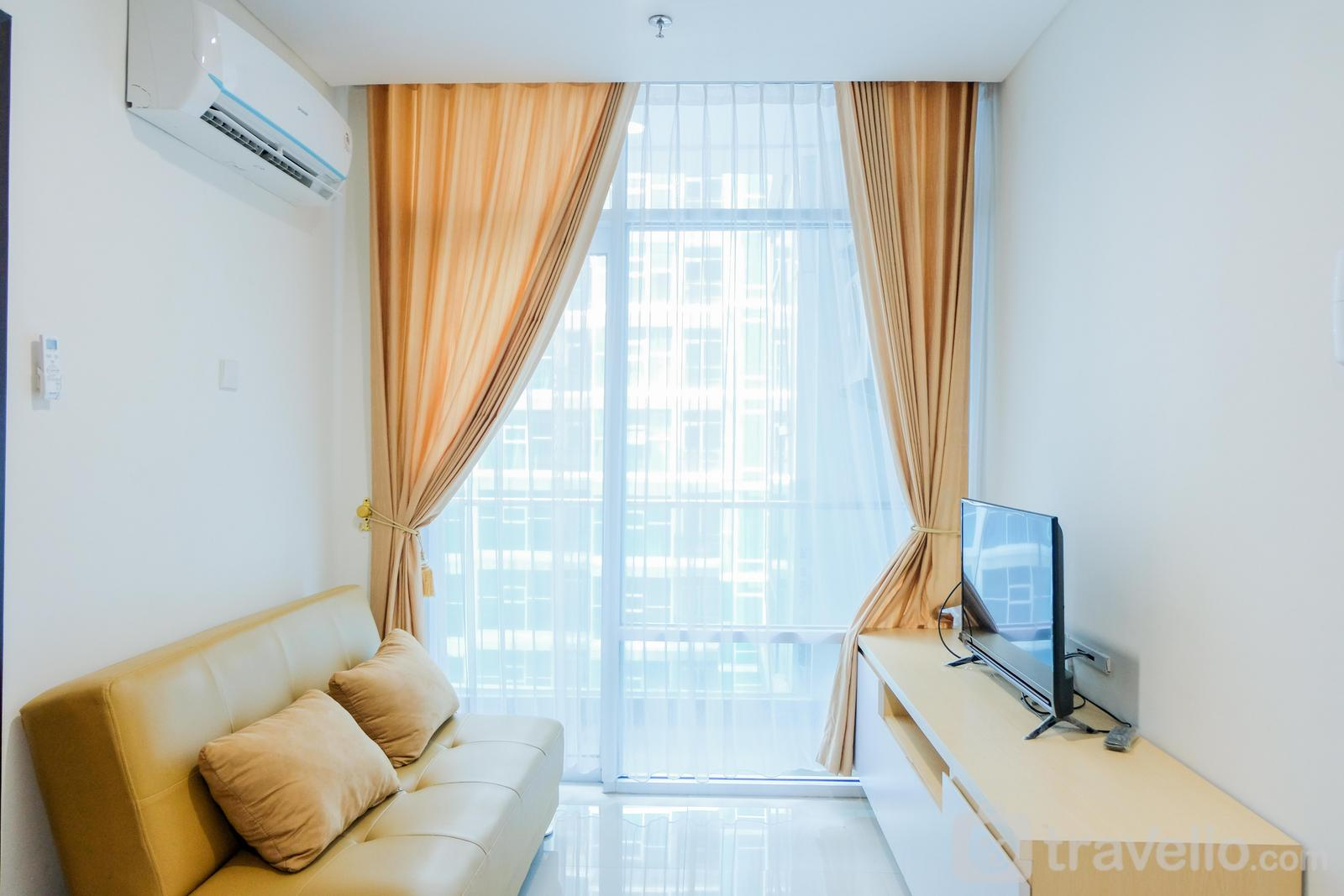 Brooklyn Apartment Alam Sutera - Great Choice 1BR Brooklyn Alam Sutera Apartment By Travelio