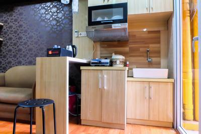 Green Pramuka Cempaka Putih - Best Location 2BR Green Pramuka Apartment By Travelio
