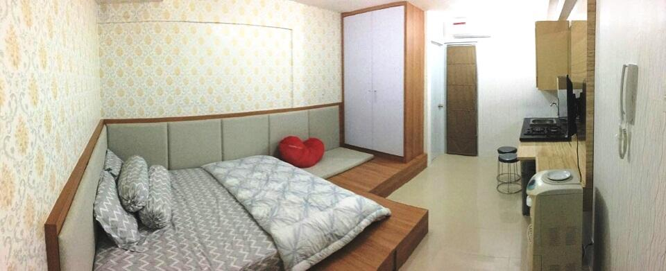 Bassura City Cipinang - Simple Studio Room Laurensia In Bassura City Apartment