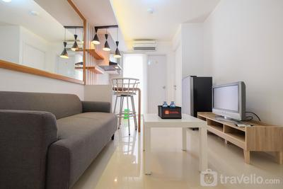 Compact 1BR Bassura City Apartment near Jatinegara By Travelio