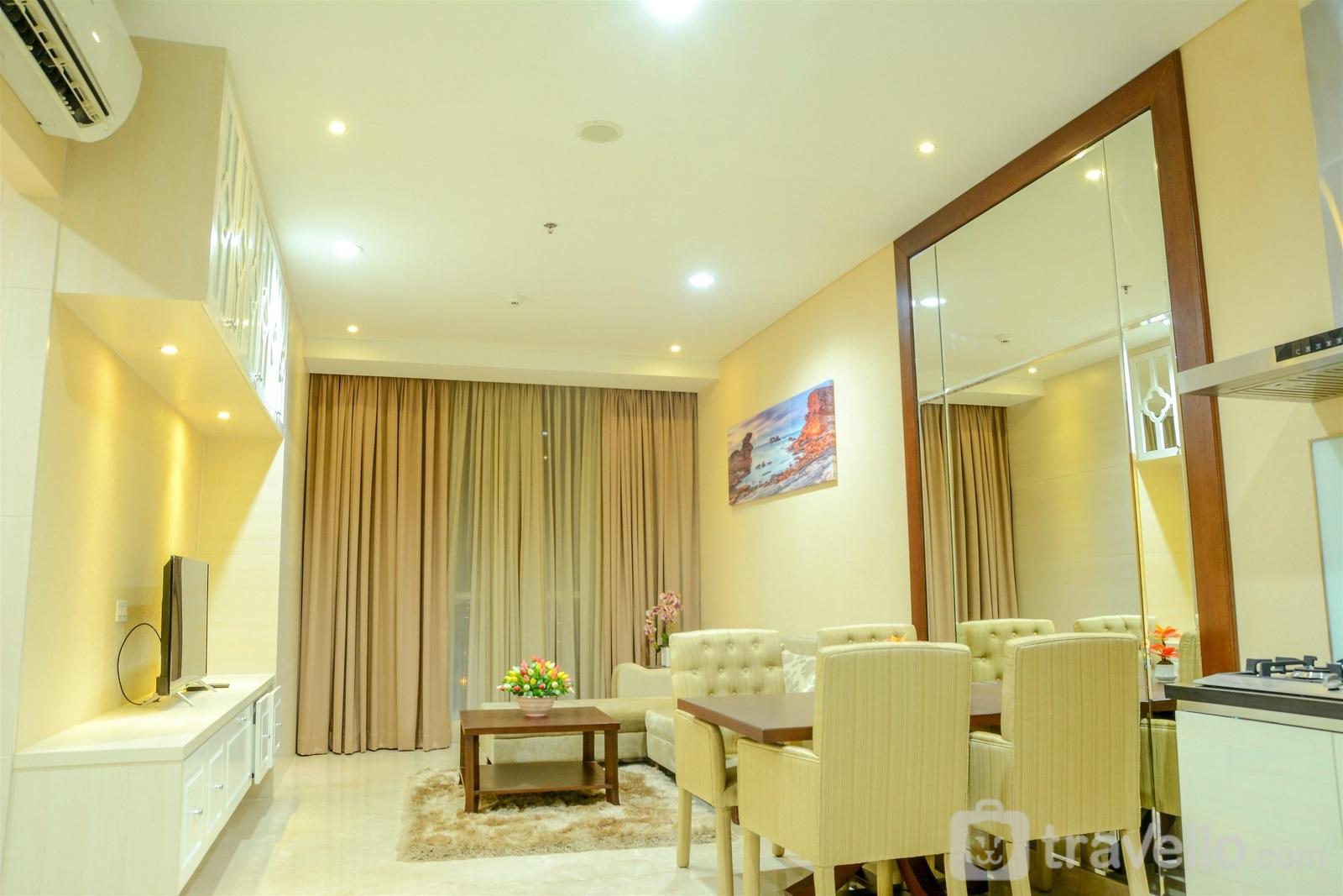 Four Winds - Spacious 2BR Four Winds Apartment with City View By Travelio