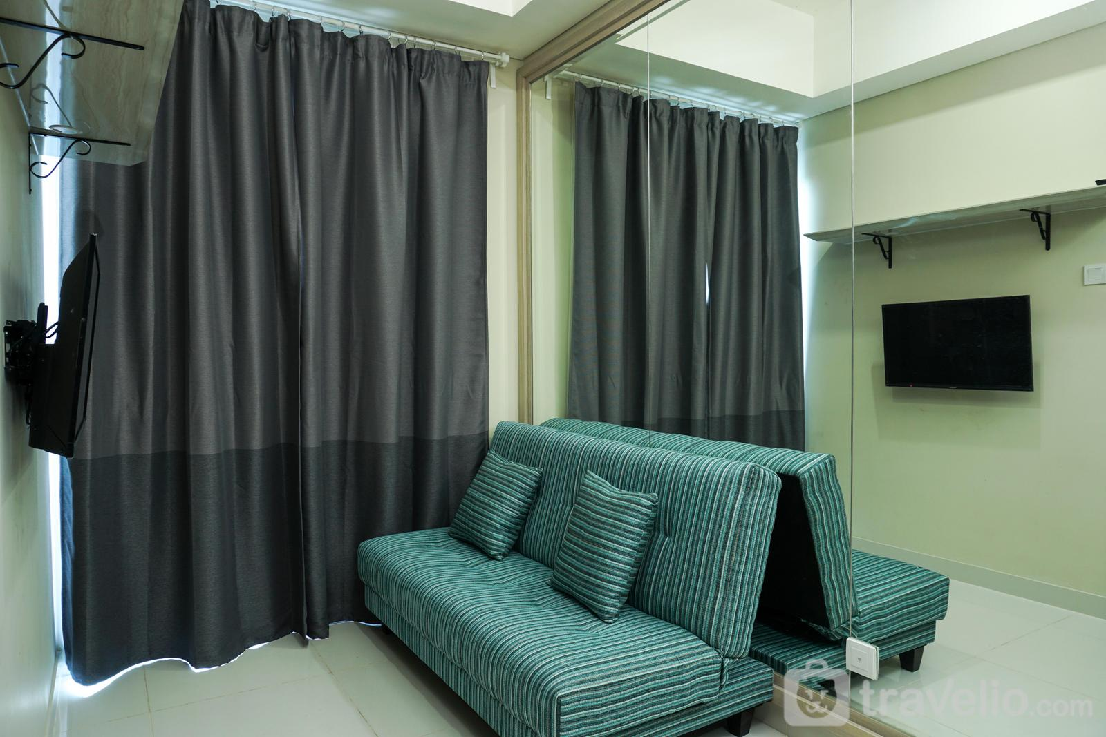 Apartemen Puri Mansion - Best 1BR with Sofa Bed Puri Mansion Apartment By Travelio